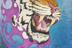art-Charles-Raby-Tigerhead-out-of-pink-and-blue