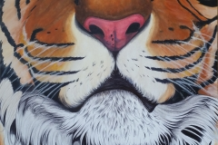Tigerhead close-up