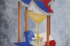 Texas hourglass