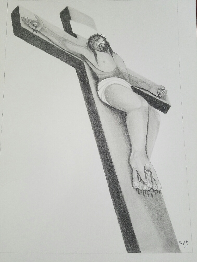 Jesus on cross 3