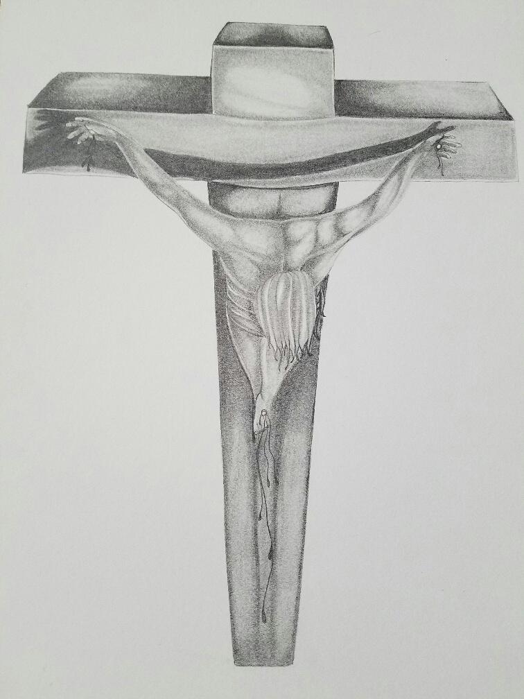 Jesus on cross 2