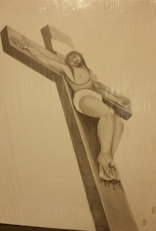 Jesus on cross 1